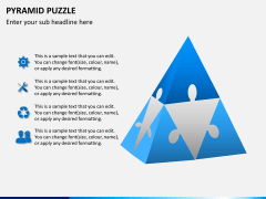 Pyramid puzzle PPT slide 1