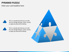 Pyramid puzzle PPT slide 2