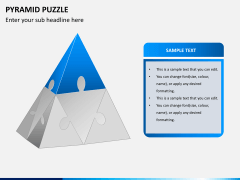 Pyramid puzzle PPT slide 3