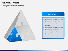 Pyramid puzzle PPT slide 4
