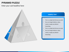 Pyramid puzzle PPT slide 5