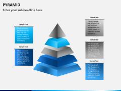 Pyramid shape PPT slide 9