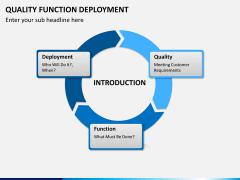 Quality function deployment PPT slide 1