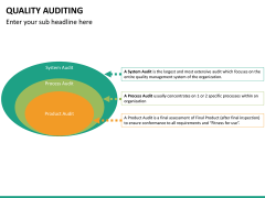 Quality auditing PPT slide 31
