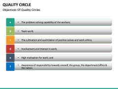 Quality Circle PPT slide 24