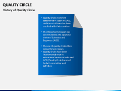 Quality Circle PPT slide 1