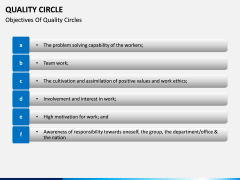 Quality Circle PPT slide 9