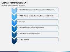 Quality Improvement PPT slide 13