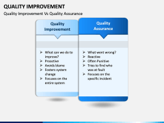 Quality Improvement PPT slide 14