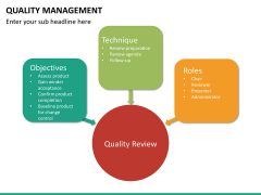Quality management PPT slide 39