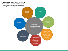 Quality management PPT slide 42