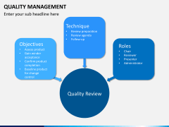 Quality management PPT slide 15