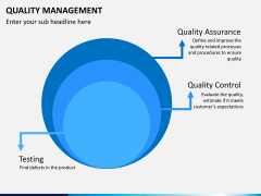 Quality management PPT slide 17