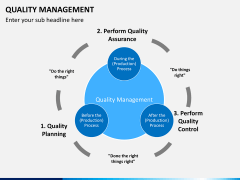 Quality management PPT slide 19