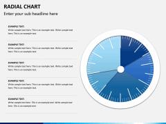 Radial charts PPT slide 2