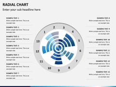 Radial charts PPT slide 3