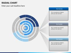Radial charts PPT slide 4