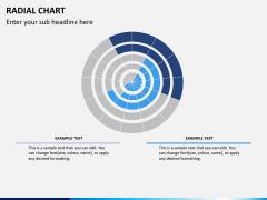 Radial charts PPT slide 5