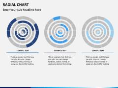 Radial charts PPT slide 7