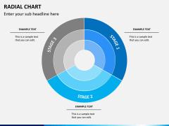 Radial charts PPT slide 8