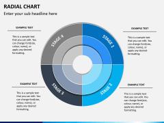 Radial charts PPT slide 9