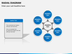 Radial diagram PPT slide 13