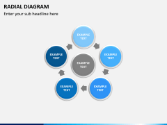 Radial diagram PPT slide 14