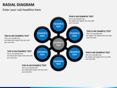 Radial diagram PPT slide 6