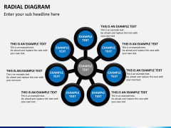 Radial diagram PPT slide 7