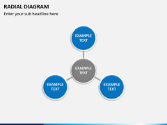 Radial diagram PPT slide 8