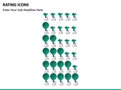 Rating icons PPT slide 8
