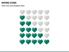 Rating icons PPT slide 10