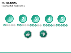 Rating icons PPT slide 12