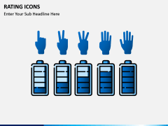 Rating icons PPT slide 1