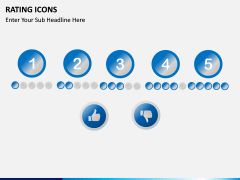 Rating icons PPT slide 6