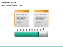 Reagent tube PPT slide 15