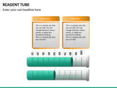 Reagent tube PPT slide 16