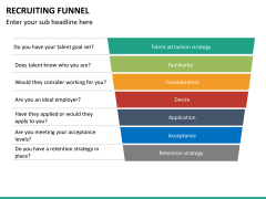 Recruiting funnel PPT slide 23