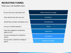 Recruiting funnel PPT slide 11