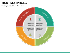 Recruitment process PPT slide 21