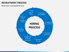 Recruitment process PPT slide 11