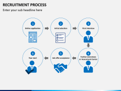 Recruitment process PPT slide 12