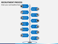 Recruitment process PPT slide 14