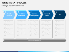 Recruitment process PPT slide 4
