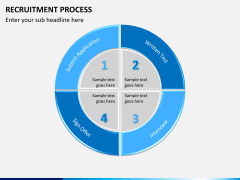 Recruitment process PPT slide 7