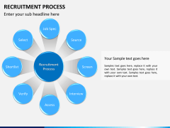 Recruitment process PPT slide 9