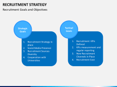 Recruitment strategy PPT slide 21