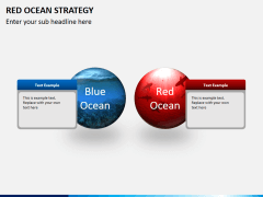 Red ocean strategy PPT slide 1