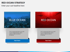 Red ocean strategy PPT slide 11