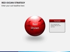 Red ocean strategy PPT slide 2